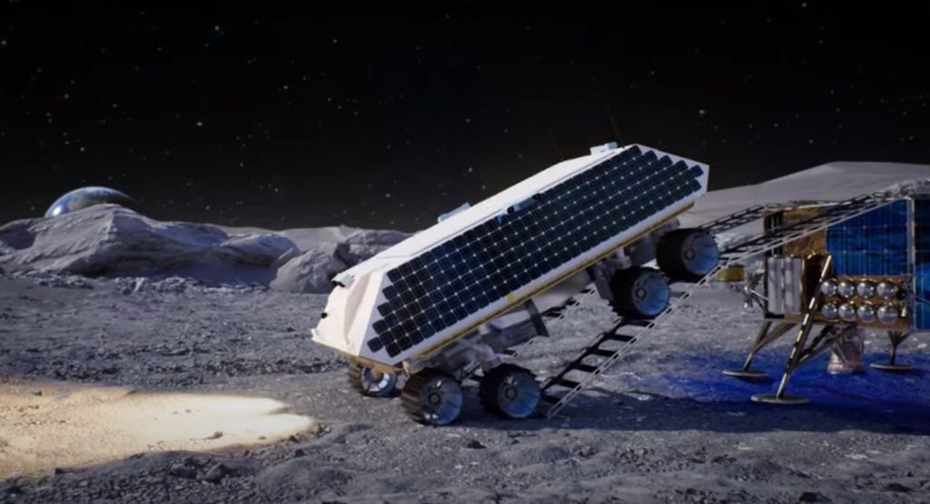 Space miners may use rockets to harvest the moon's water ice